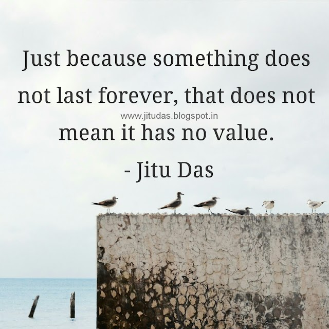English Last Forever quotes by Jitu Das quotes