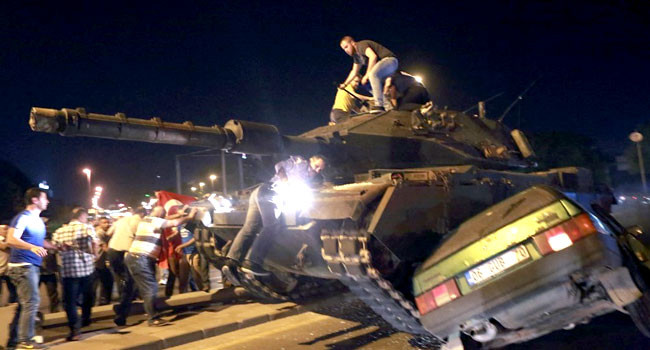 Turkey jails 22 Ex soldiers for life over 2016 coup attempt