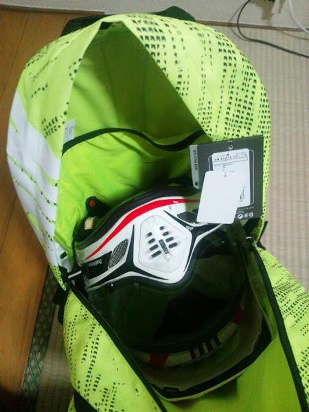 ヘルメットも収納できて大容量なライダー向けリュックはこれだ!「KAKA 40Lリュック」