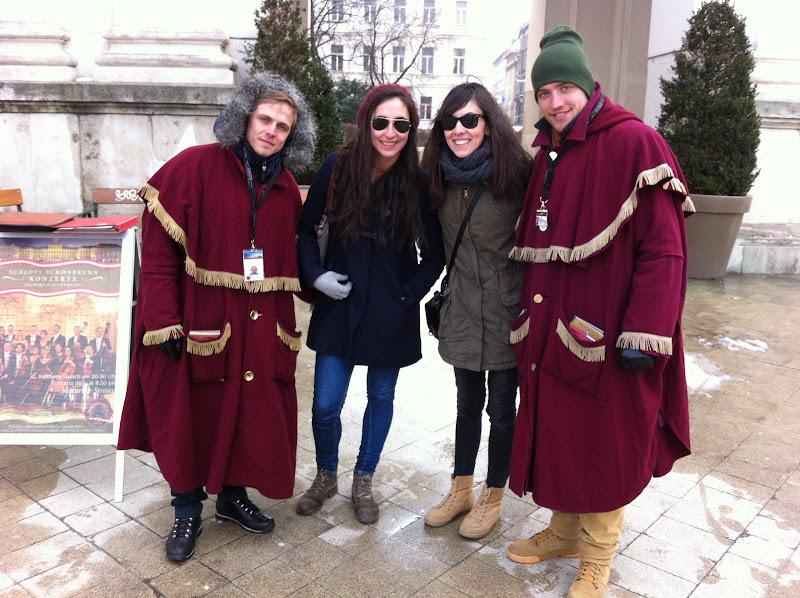 Comerciales de un coro en Viena
