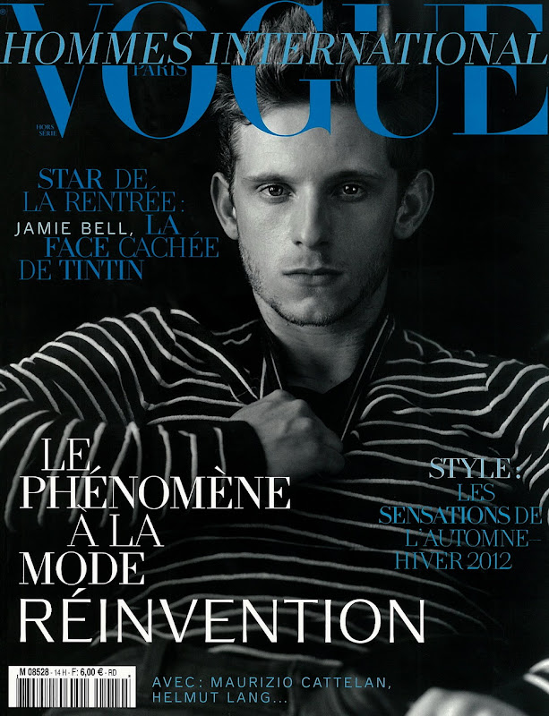 Jamie Bell by Bruce Weber for Vogue Hommes International F/W 2011.  Styled by Alex White