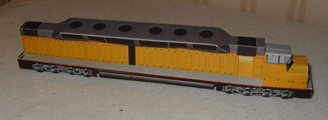 1969 EMD DDA40X - Union Pacific
