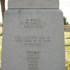 Families who gave up their land for the Powder Plant Bondurant, Dismukes, Donelson, Gleaves, Hadley, Jackson, Jones and Overton--Old Hickory, Tennessee