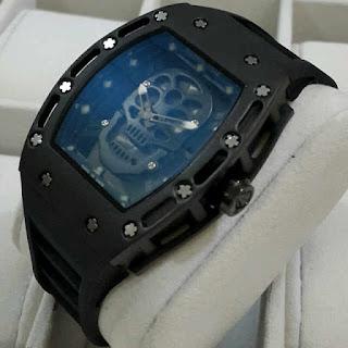 Jual jam tangan Richard mille , Jam tangan Richard mille tengkorak
