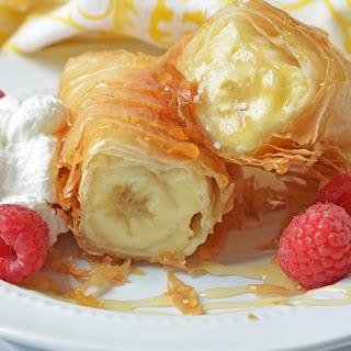 Banana Fried Cheesecake.