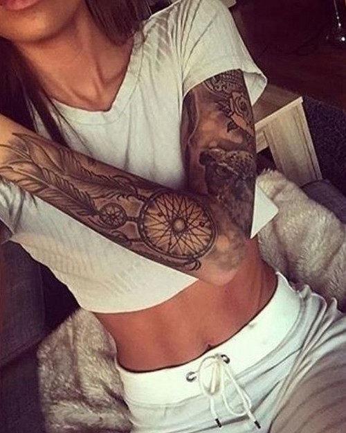 este_lindo_dreamcatcher_manga_tatuagem