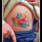 pitbull belly - tattoos for women