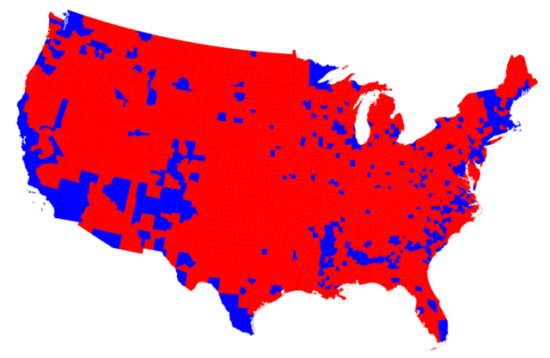 2016-election-by-county u of m red blue