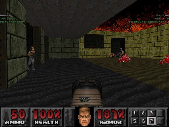 Doom PSX en coop