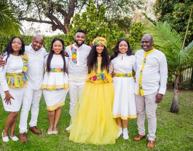 Xitsonga Wedding Attire