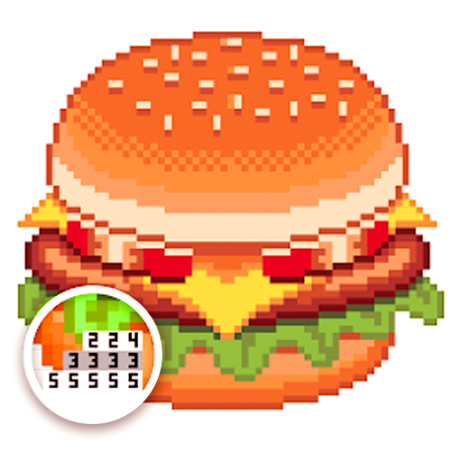 Foods Color by Number - Drinks Sandbox Pixel Art