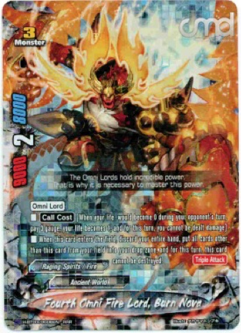 Buddyfight English H-BT03//0018EN RR Underling of the Fire Lord Ricky