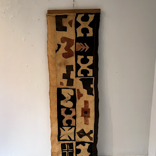 African Mud Cloth Hanging