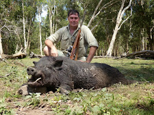 Australian hunter Phil Mansell took this nice tusky wild boar at Carmor Plains in November.