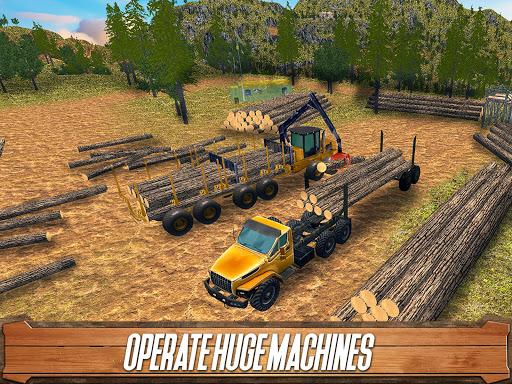 Sawmill Driver: Logging Truck & Forest Harvester  screenshots 6