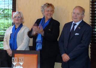 Le nouveau Bureau: Nicole Malaquin, Jannick Clowez, Max Abrami