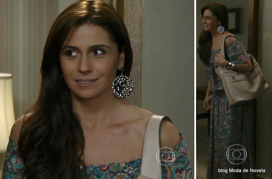 moda da novela Em Família - look da Clara dia 7 de julho