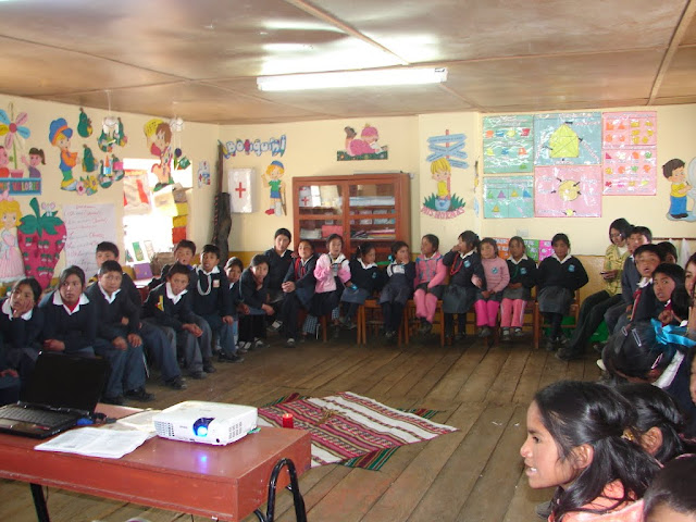 Niños del Colegio de Bellavista