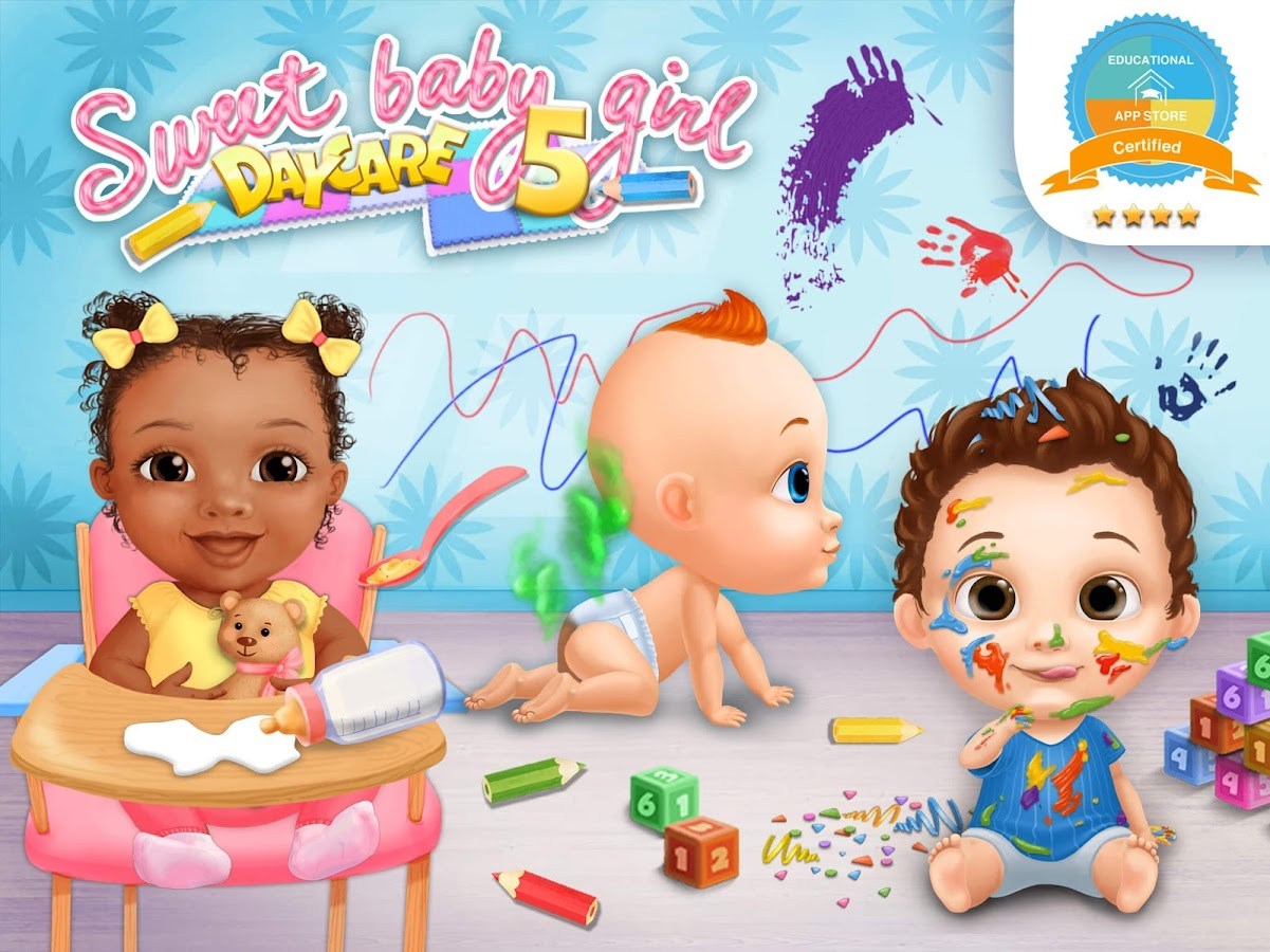 Sweet Baby Girl Daycare 5 - Newborn Nanny Helper- screenshot