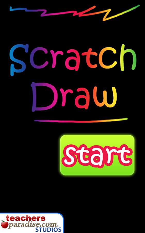 Scratch Draw Art Game- screenshot