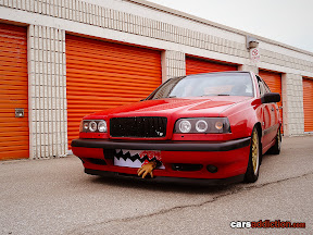 Volvo 850 with teeth