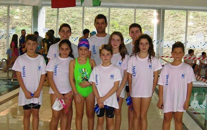 """Nadadores de Lamego sobem ao pódio a """"jogar em casa"""""""
