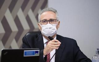 Calheiros pede exoneração de Braga Netto por ameaças