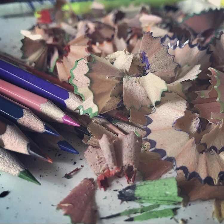 crayon taillé