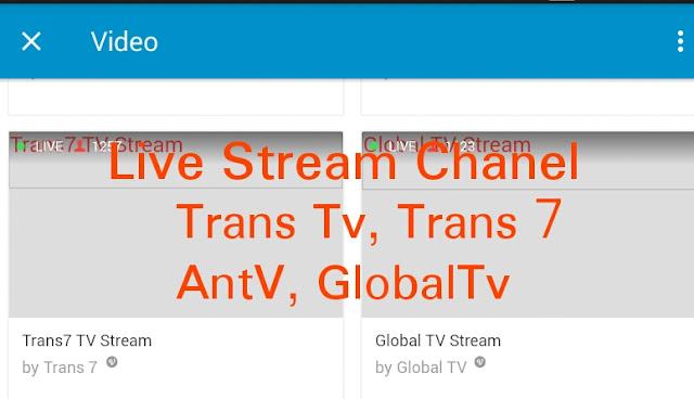 Cara menonton tv dengan aplikasi bbm