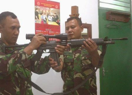 berita terkait penemuan senjata laras panjang di rumah terduga teroris ngawi