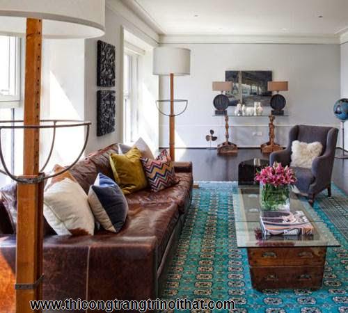 Sắm sofa da rộn ràng đón Tết - <strong><em>Thi công nội thất gỗ</em></strong>-8