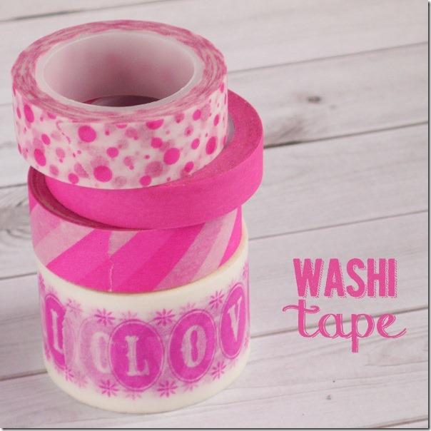 Washi Tape Organizzazione ed Idee per Scrap e Planner