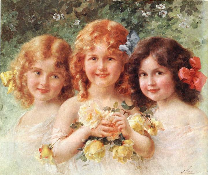 Emile Vernon - Three Sisters