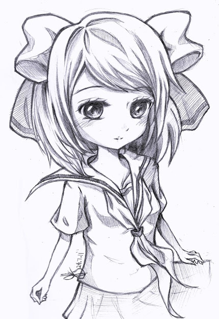 Beautiful Manga Drawings For Your Inspiration Anime Girl Coloring Pages