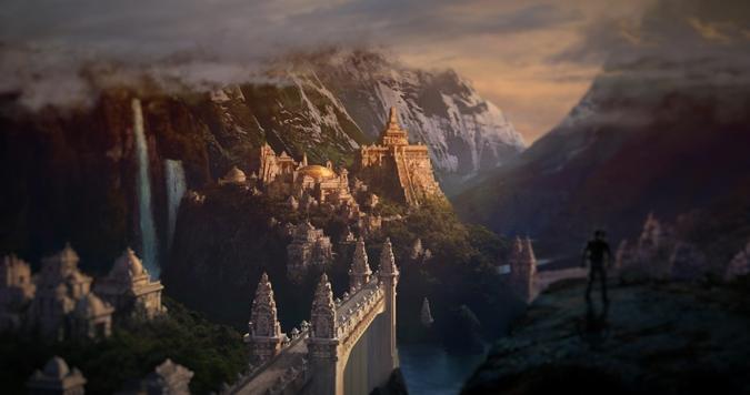 A terra de Shambhala Um reino de outra dimensão 00