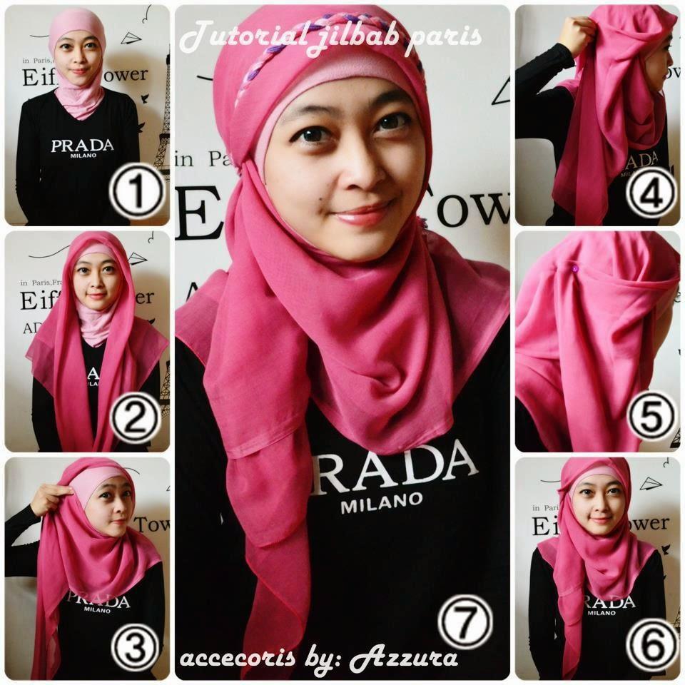 Hijab Segi Empat Simple Untuk Wajah Bulat Tutorial Hijab Segi