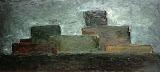 paysage urbain / huile toile / 35x60 / 1994
