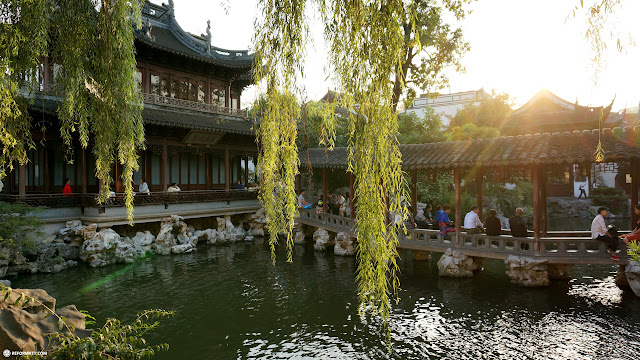 Yu Garden in Shanghai, China in Shanghai, Shanghai, China