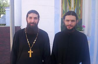 Photo: Padre Siluan y Obispo Savatiy de Vinnitsa