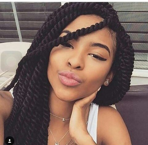 Crochet Hair Nigeria : Crotchet braids, this is popularly known in some parts of Nigeria as ...