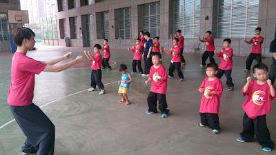 2015八極拳兒童夏令營