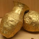 Musée d'archéologie nationale, Bronze moyen : deux gobelets en or (Villeneuve-Saint-Vistre, Marne)