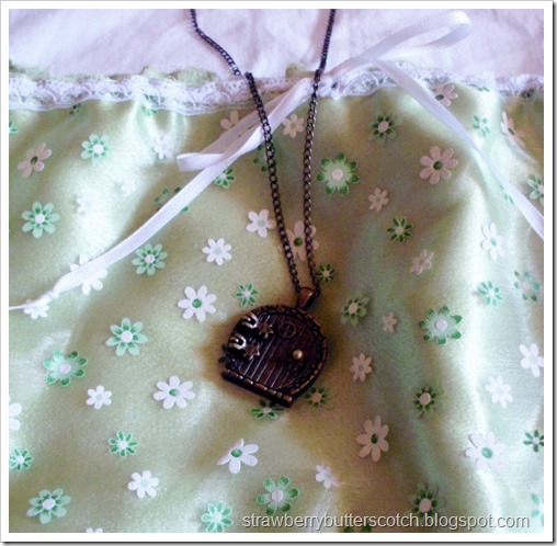 Fairy Door Locket Necklace