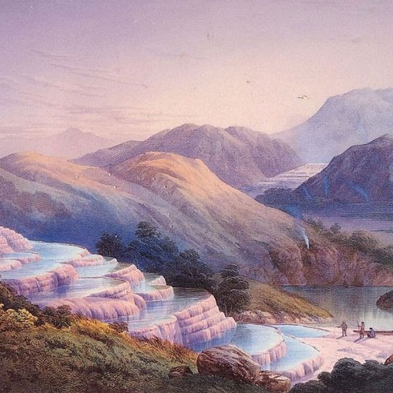 The Lost Pink and White Terraces of Lake Rotomahana