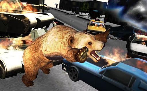 クマのシミュレーション