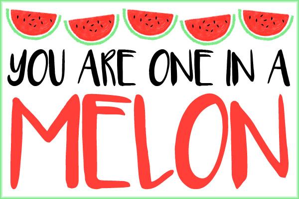Melon Valentine