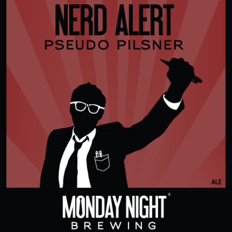 Logo of Monday Night Nerd Alert! Pseudo Pils