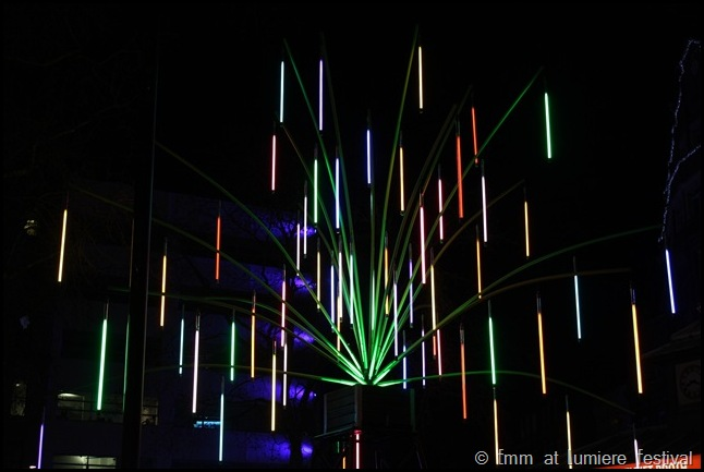 Garden of Light at Lumiere Festival London