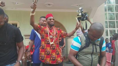Dbanj Bags Chieftaincy title in Imo state