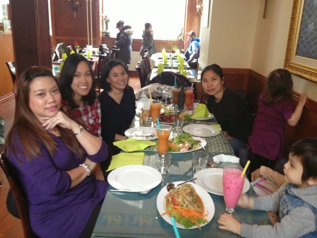 Thai Isan with girlfriends